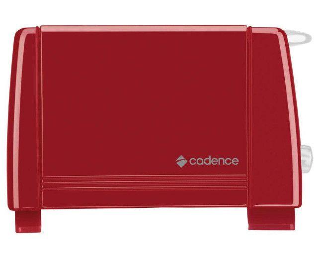 Torradeira Cadence Colors 7 Níveis De Tostagem 2 Fatias Tor111127 Vermelha 110V - Foto 5