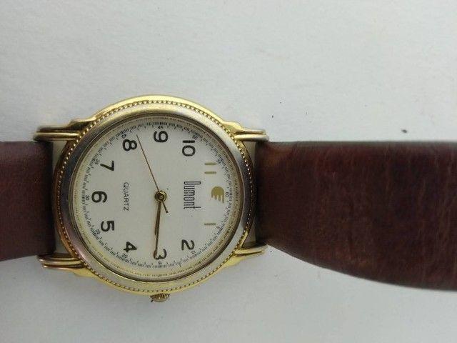 Relógio Dumont feminino dourado  - Foto 5