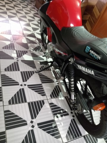 Vendo ou troca por Crossi ou Bros 2015 Yamaha fector ED 125 2017 2018 VL 7.500   - Foto 3