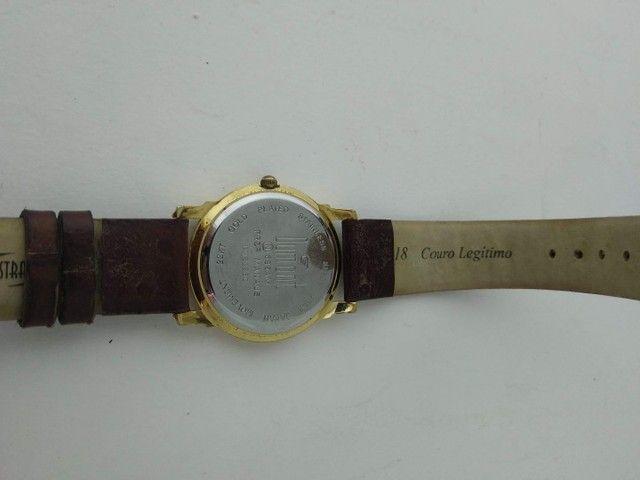 Relógio Dumont feminino dourado  - Foto 3