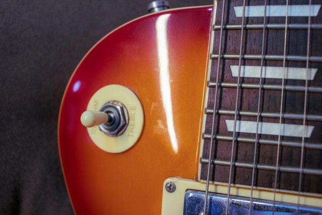 Guitarra Les Paul Memphis MLP 100 com capa - Foto 3
