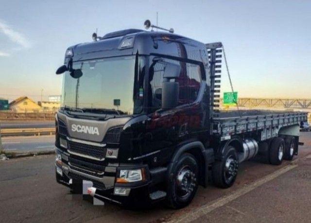 caminhão Scania P 360 Bitruck