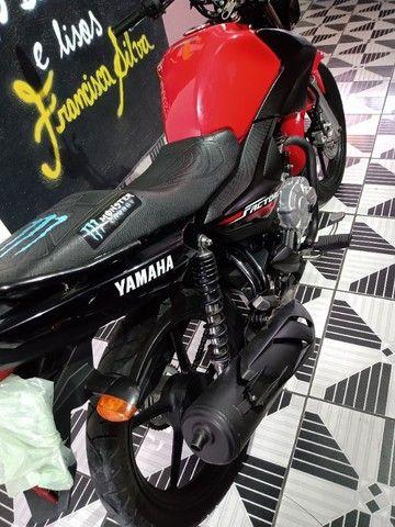 Vendo ou troca por Crossi ou Bros 2015 Yamaha fector ED 125 2017 2018 VL 7.500   - Foto 7