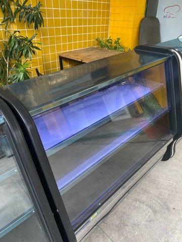 Balcão refrigerado- tubulação em cobre- para frios e laticínios - freezer  - Foto 3