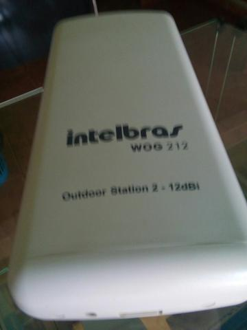 Roteador INTELBRAS WOG312 Outdoor station 2 - 12 dbi