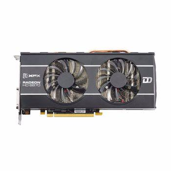 Placa de video xfx hd radeon 6870 1gb ddr5 256bits double dissipation