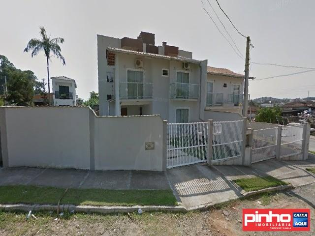 Casa geminada 03 dormitórios, venda direta caixa, bairro guanabara, joinville, sc, assesso