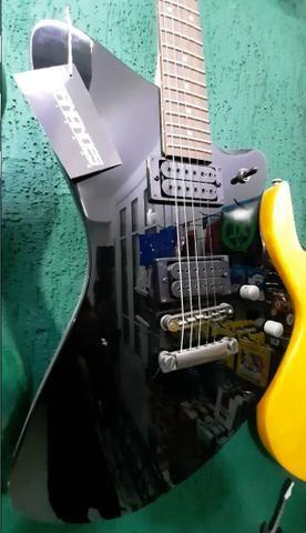 Guitarra Fernandes Vertigo X Bk Preta linda no mostruário da Loja instrumento novo! - Foto 4