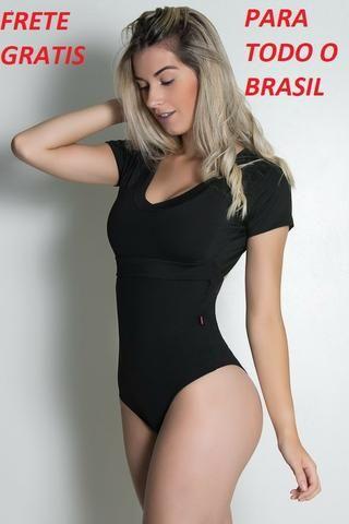 Body Liso Suzana (Preto) - Foto 3