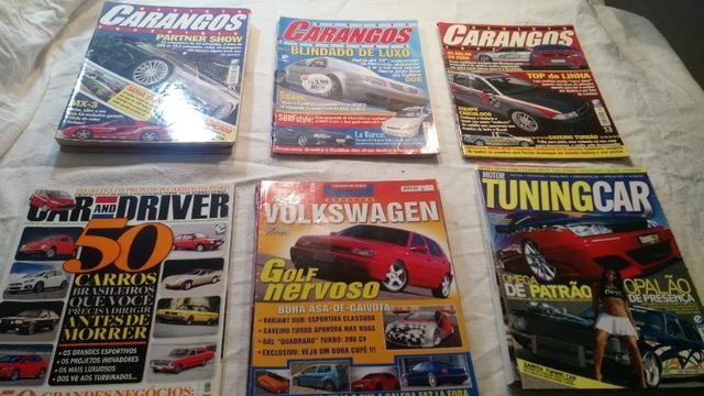 Revistas Carangos e Tunning Car