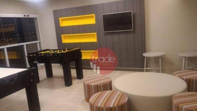 Flat com 1 dormitório para alugar, 44 m² por r$ 1.800,00/mês - bosque das juritis - ribeir - Foto 13