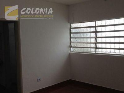 Casa para alugar com 1 dormitórios em Jardim utinga, Santo andré cod:36468