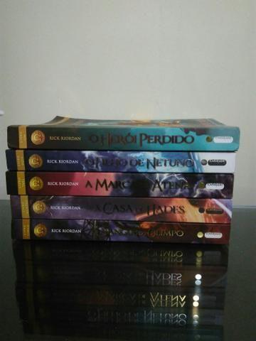 Coleção de livros de Heróis do Olimpo