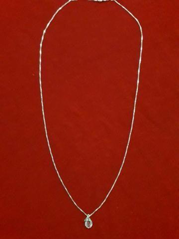 Colar Prata Feminino 45cm - Foto 4