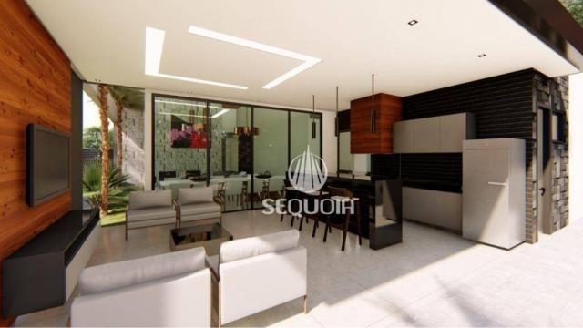 Casa com 3 dormitórios à venda, 408 m² por R$ 1.350.000 - Alphaville - Ribeirão Preto/SP - Foto 4