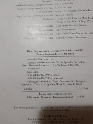 Livro gramática- teoria e atividades - Foto 2