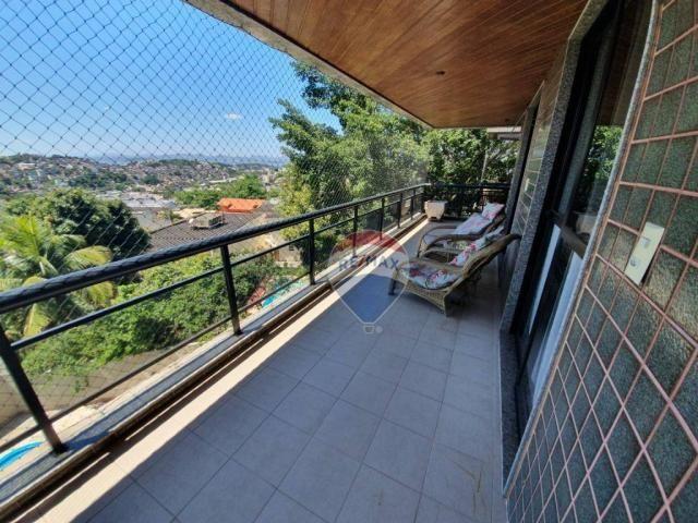 Apartamento com 3 dormitórios à venda, 130 m² por r$ 800.000 - jardim guanabara - rio de j - Foto 3