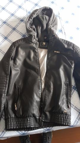 Jaqueta de couro TNG