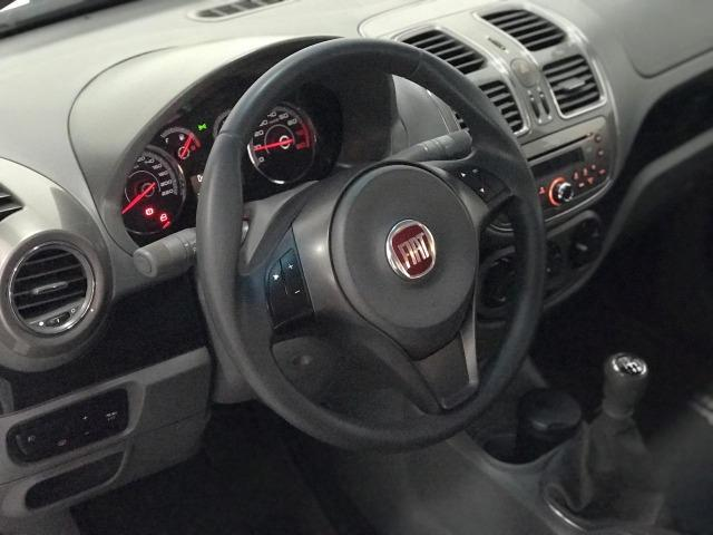 Fiat - Grand Siena 1.6 Essence Flex 2014 Branca - Foto 5