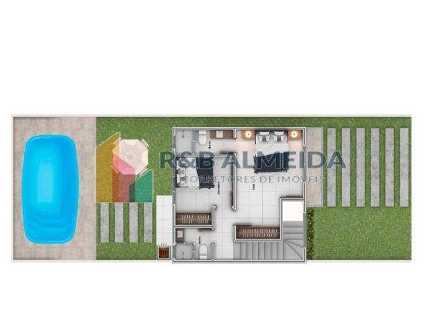 R2/ Simplesmente vai ficar linda, faça já seu projeto, reserva sua casa ainda na planta!!! - Foto 4