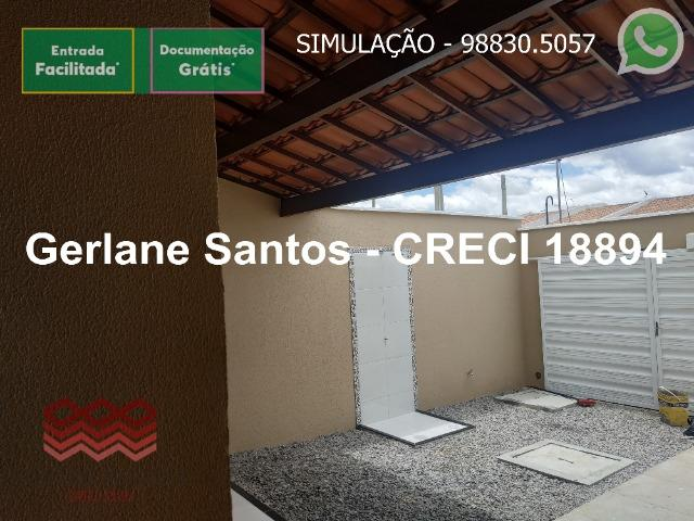 Escritura Grátis Casa 02 Quartos, 2 banheiros, 2 garagens - Foto 19