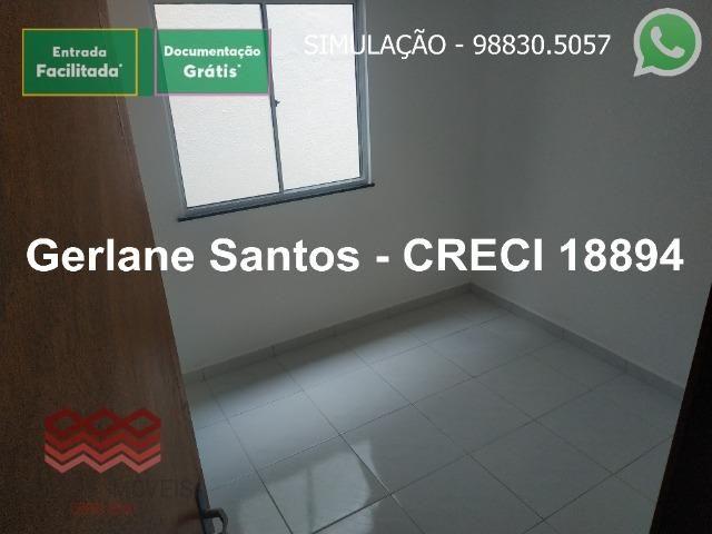Escritura Grátis Casa 02 Quartos, 2 banheiros, 2 garagens - Foto 8