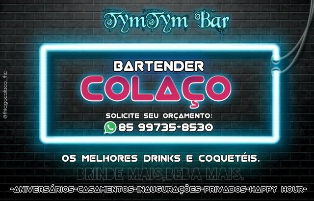 Barman/bartender drinques e coquetéis. Apartir de 200.00 reais