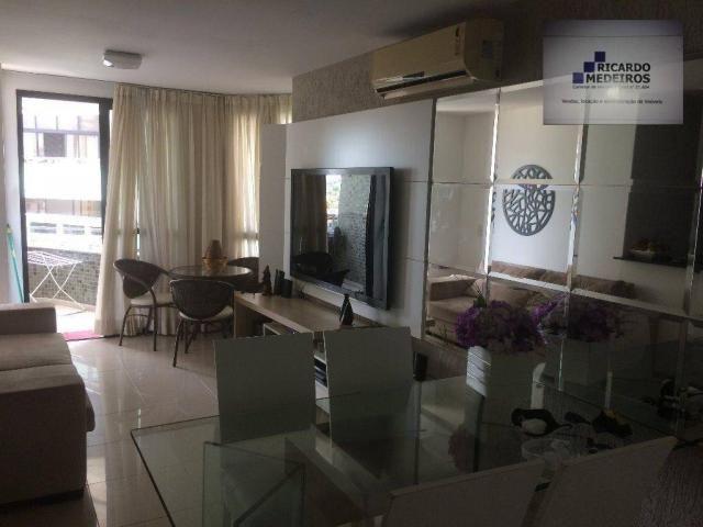 Apartamento de 82m², com 2 suítes, loteamento aquarius - Foto 2