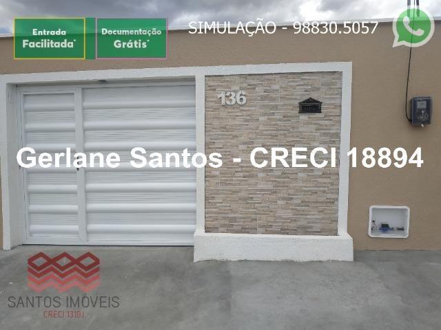 Escritura Grátis Casa 02 Quartos, 2 banheiros, 2 garagens