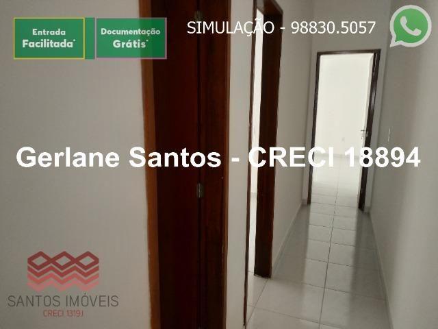 Escritura Grátis Casa 02 Quartos, 2 banheiros, 2 garagens - Foto 2