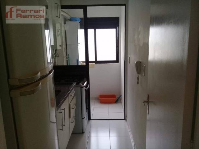 Apartamento com 2 dormitórios à venda, 47 m² por r$ 245.000,00 - portal dos gramados - gua - Foto 8
