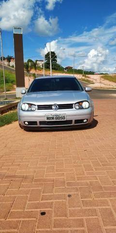 Vendo ou troco Golf 1.6 2000 Completo + Susp Ar + Legalizado - Foto 4