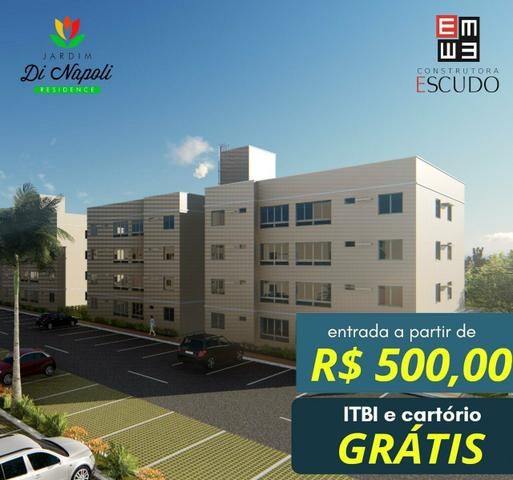 11- apartamentos com entrada de 500