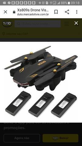 Drone visuo 3 bateria - Foto 4