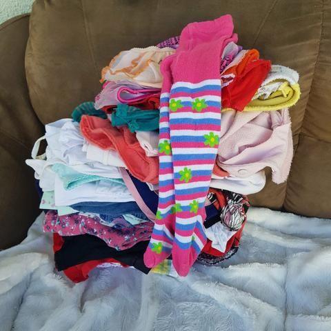 Lote roupa menina 1 ano ( Leia o anúncio) - Foto 4