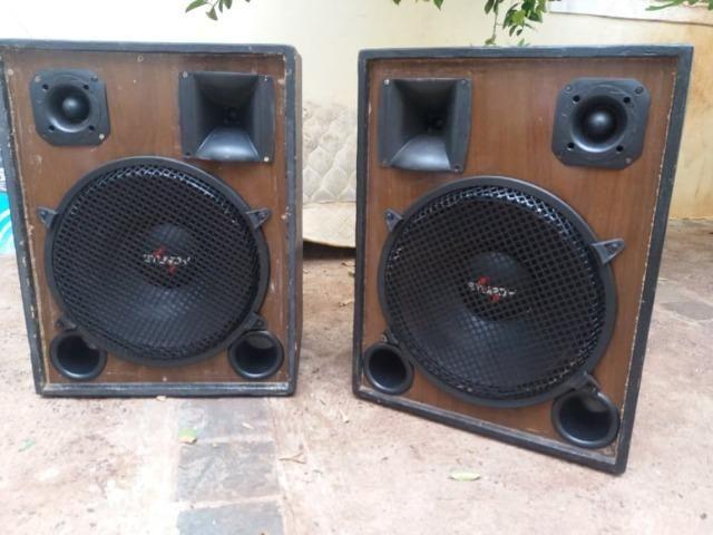 Caixas de som de 15 polegadas tree way 450 watts RMS falantes NOVO