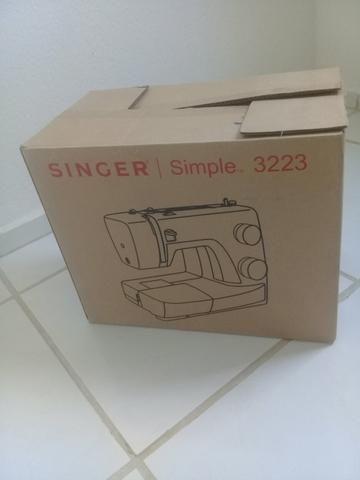 Vendo máquina de costura novinha em perfeito estado