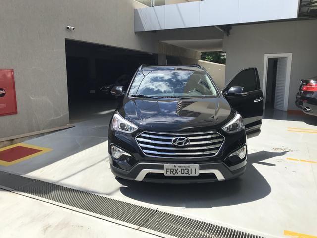 Vendo Hyundai Grande Santa Fé - Foto 6