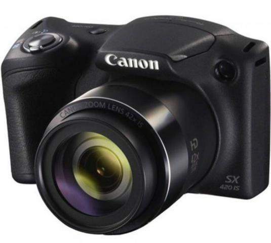 Câmera Cânon PowertShot SX420 IS - preta - Foto 2