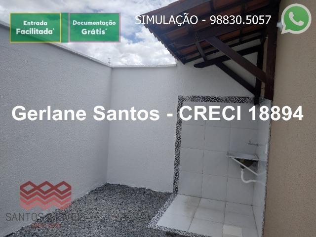 Escritura Grátis Casa 02 Quartos, 2 banheiros, 2 garagens - Foto 16