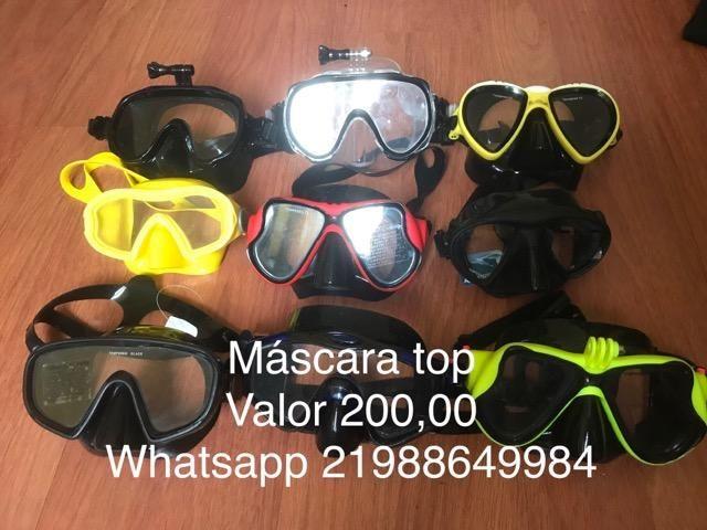 Kit máscara e snorkel - Foto 2