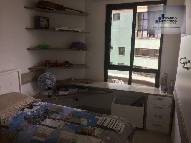 Apartamento de 82m², com 2 suítes, loteamento aquarius - Foto 5