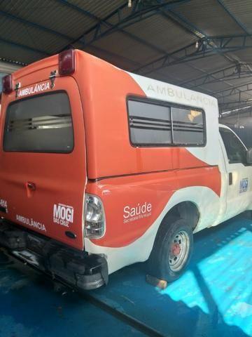 04 F250 4x2 Diesel - Sucata S/ Documento - Retirada De Peças - Foto 5