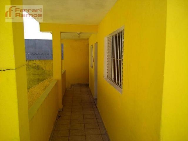 Casa com 3 dormitórios para alugar, 80 m² por r$ 1.350,00/mês - jardim presidente dutra -  - Foto 15