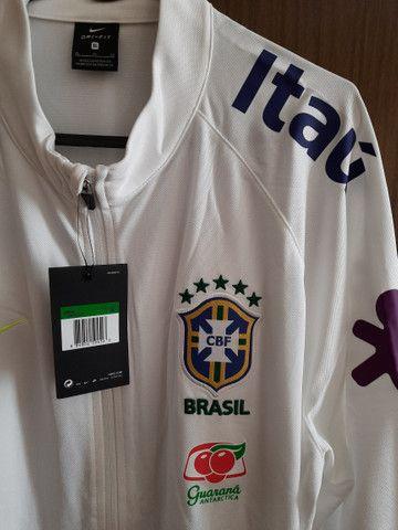 Agasalho Seleção Brasileira jogador ORIGINAL - Foto 2