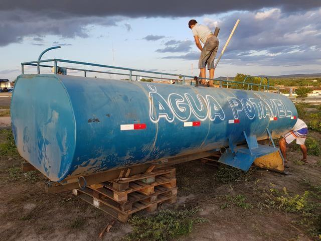 Tanque Pipa para caminhão 10.000 litros
