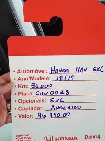 Honda HR-V EXL Top 1.8 Linda mesmo vem pra cá - Foto 2