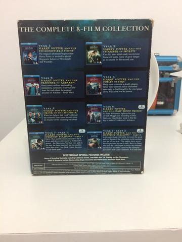 Box Harry Potter em Inglês Blu-Ray - Foto 3