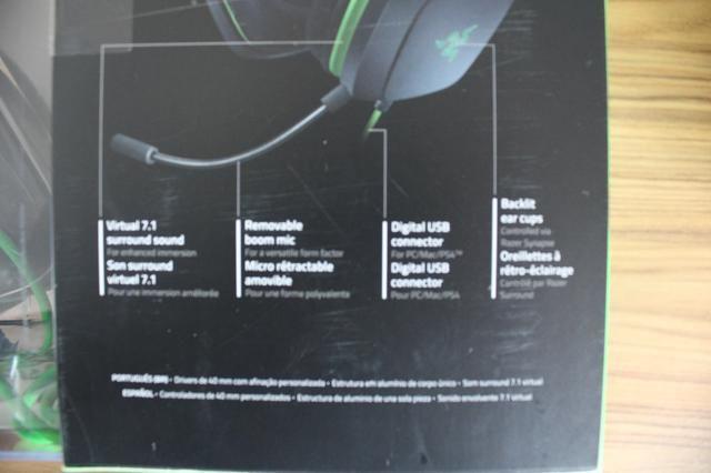 Headset Gamer Razer Electra V2 - Foto 3