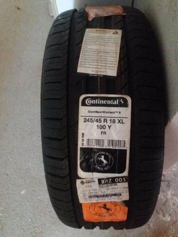 Pneu Continental 245/45 R 18 XL 100y - Foto 3